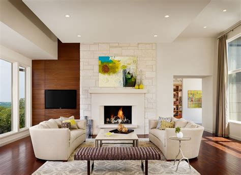 The House On The Hill With Modern Contemporary Interior Design