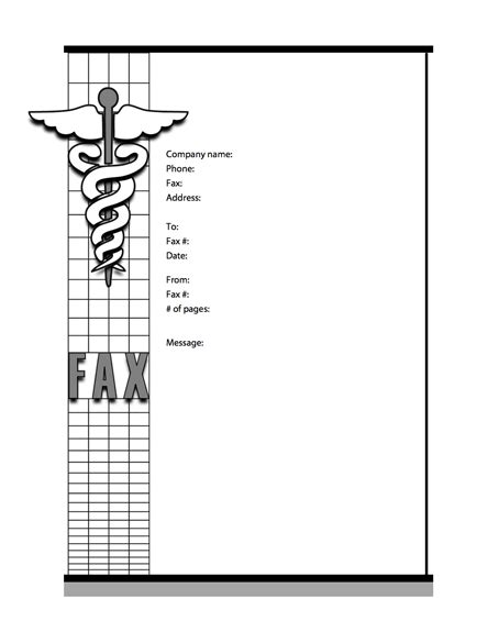 medical cover sheet templates  myfax