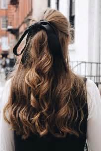ribbon hair styles best 25 ribbon hairstyle ideas on ribbon hair