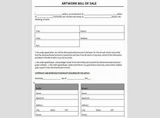 Bill of Sale Templates Microsoft and Open Office Templates