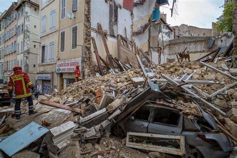 marseille building collapse  bodies