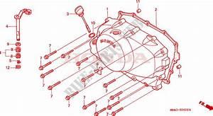 Right Crankcase Cover For Honda Shadow Vt 750 1997   Honda