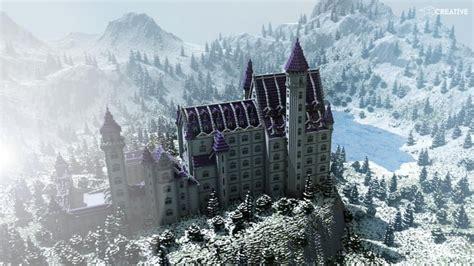 castle neuschwanstein scale  minecraft building