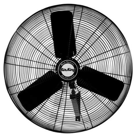 air king wall fan air king 9025 24 inch industrial grade oscillating wall