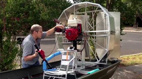 Airboat Motors For Jon Boats by Air Boat Trial 2