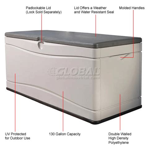 lifetime 60012 large deck box dimensions bins totes containers containers deck boxes
