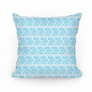 blue cute chevron pattern throw pillow human With cute blue throw pillows