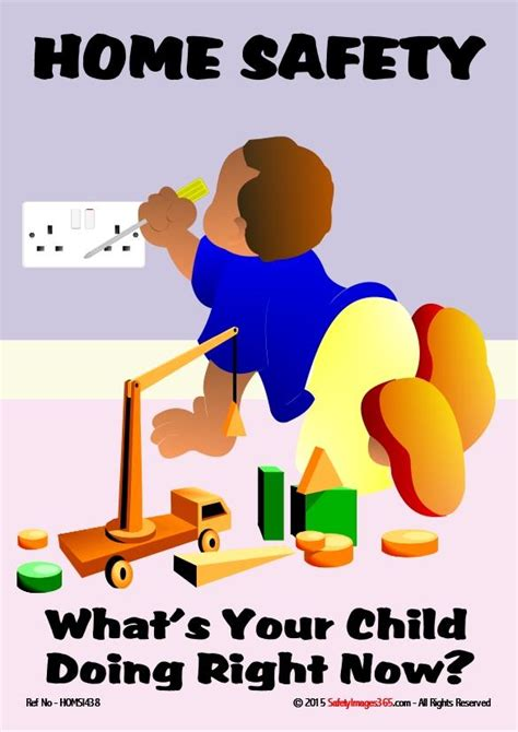 home safety poster whats  child