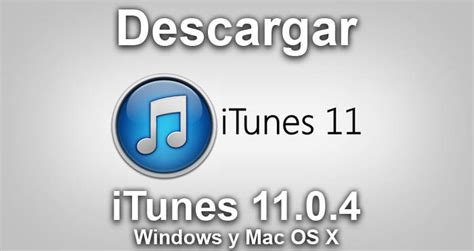 itunes 11.0 telecharger mac os x