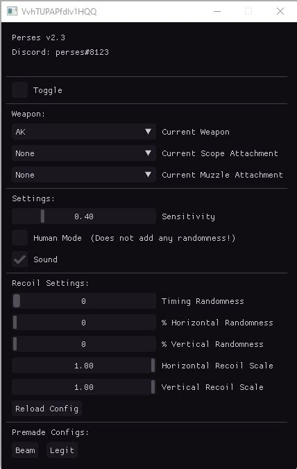 selling rust recoil script perses  undetected private customizable