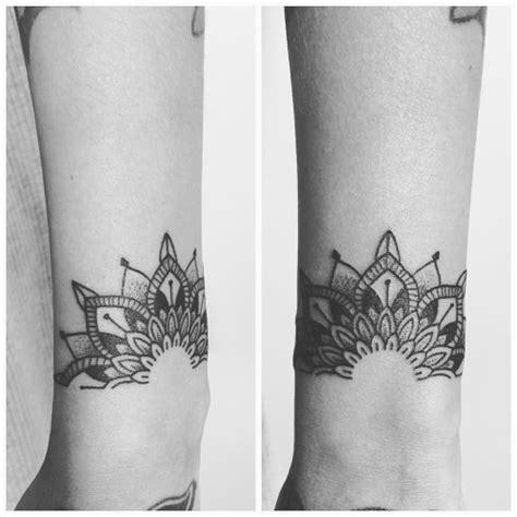 idee tattoo bracelet mandala femme tatouage femme