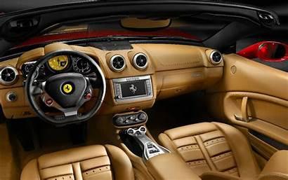 Interior Ferrari California 2009 Wallpapers
