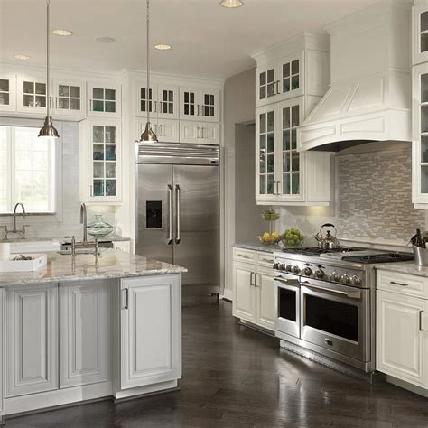 custom cabinets home depot american woodmark custom kitchen cabinets shown in classic
