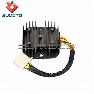 Motorcycle Parts 6 Wires Regulator Rectifier For El250