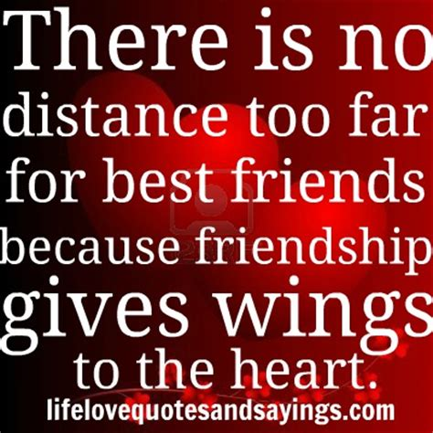 Funny Long Distance Best Friend Quotes