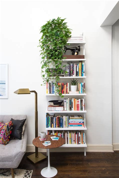 Living Room Bookshelf Wall by Stairway White 96 Quot Wall Mounted Bookcase In 2019 Mycb2