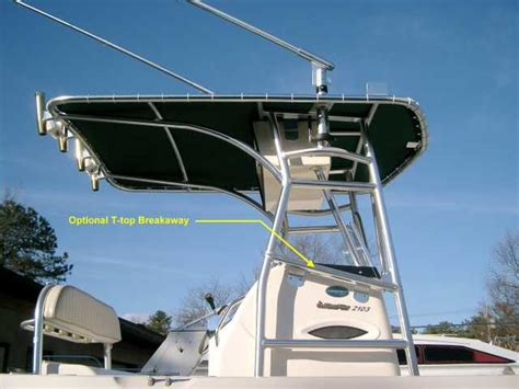 Whaler Tekne by Boat T Tops