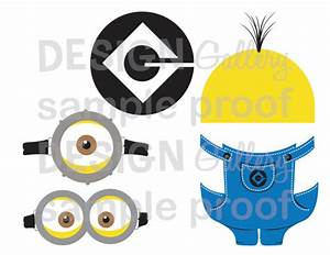 minion despicable me images goggles overalls logo yellow With minion overall template