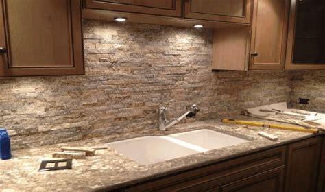 backsplash for kitchen with granite stacked backsplash kitchen