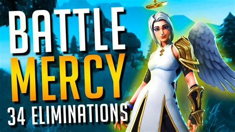 fortnite battle mercy  ark skin ft timthetatman