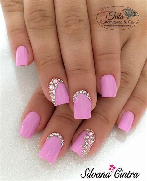 nägel weiß rosa instagram analytics unhas de gel unhas unhas pedrarias e unha