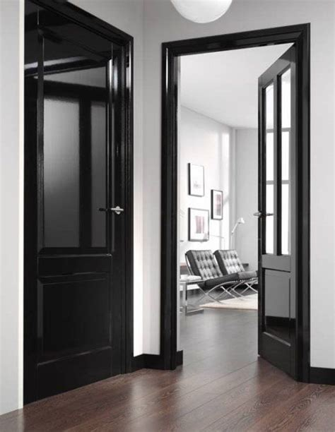 willow bee inspired  inspired   black interior doors