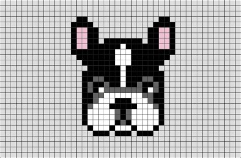 french bulldog pixel art brik pixel art designs