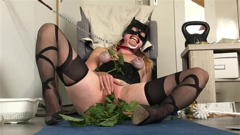 Nettle Torture For Submissive Painslut Slave Gets Pussy