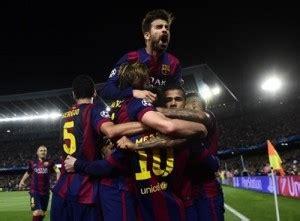 Messi scores twice as Barcelona win champions league semi ...