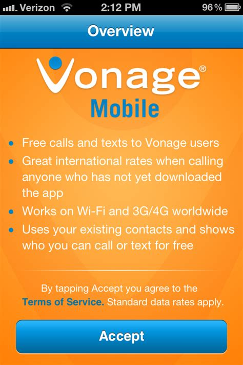 vonage phone number vonage mobile voip calling app review the gadgeteer