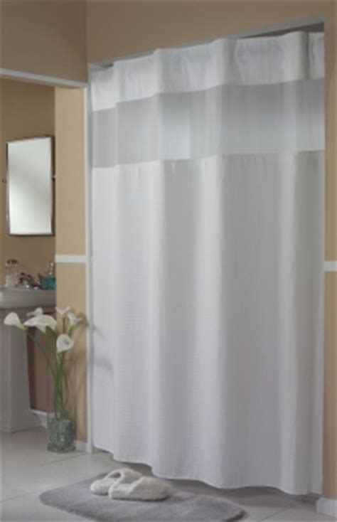 pique waffle white hookless 174 shower curtain vinyl no