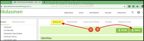 Itulah penjelasan singkat mengenai cara edit data profil sekolah di dapodik 2020 yang dapat admin. Mudahnya, Cara Download Profil Sekolah Di Dapodik 2020 ...
