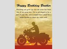 I'm Proud! Happy Birthday Wishes Card for Brother