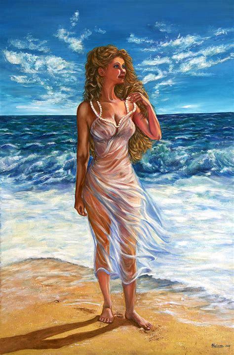 Waves Painting By Yelena Rubin