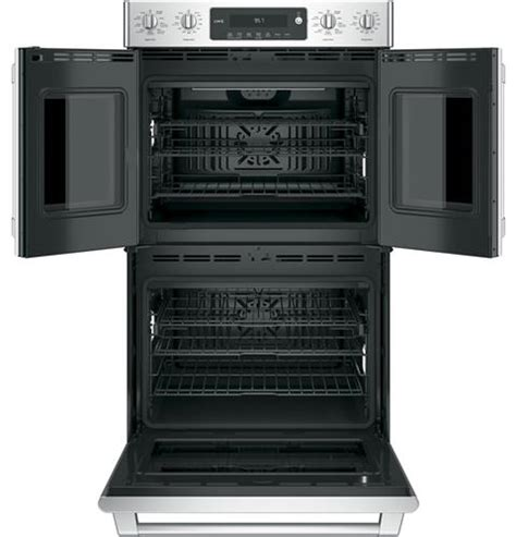 ge cafe series  built  double convection wall oven ctslss ge appliances