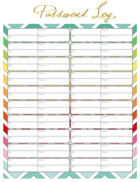 Blank Medication List Templates