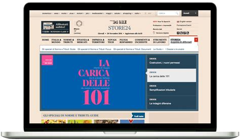 Libreria Sole 24 Ore by Business Class Digital