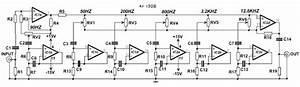 Circuit Schematic Equalizer 6 Channel Tl074  U0432 2019  U0433