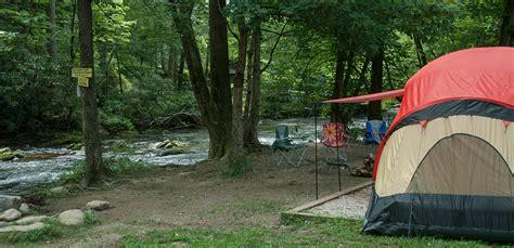 A Smokey Mountain Campground near Bryson City, NC