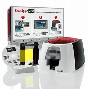 Imprimante Carte Pvc : evolis badgy imprimante cartes pvc pour petit budget ~ Dallasstarsshop.com Idées de Décoration