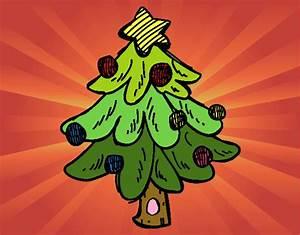Disegno Un Albero di Natale colorato da Utente non registrato il 29 di Novembre del 2015