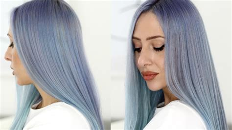 how to style your ombre hair how to dye your hair ombre blue find your hair style 4509