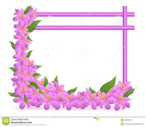 floral frame cdr vector stock  image