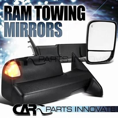Ram Dodge Mirrors 1500 Power Puddle Folding
