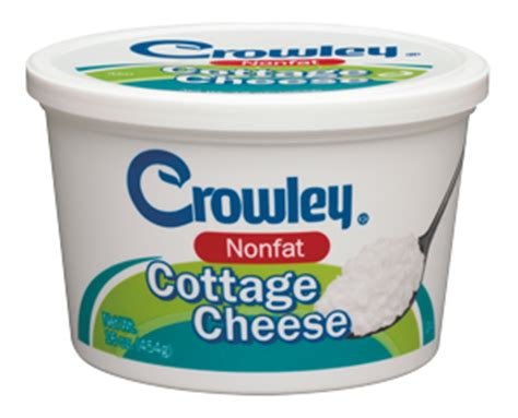 Non Cottage Cheese Nutrition Crowley Foods 174 Nonfat Cottage Cheese