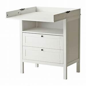 Tischdecke Weiß Ikea : sundvik wickeltisch kommode wei ikea ~ Watch28wear.com Haus und Dekorationen