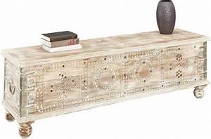 Sitztruhe Weiß Holz : home affaire sitztruhe breite 145 cm kaufen otto ~ Markanthonyermac.com Haus und Dekorationen