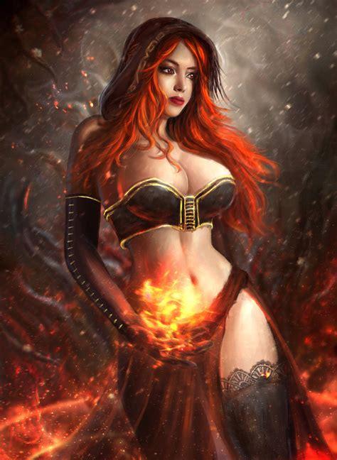 Sexy Sorceress Crimsoniris