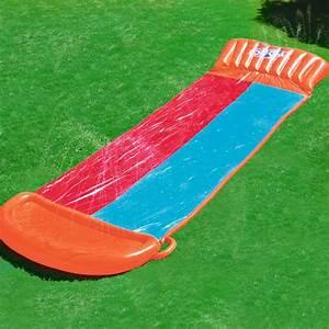 bestway tapis de glisse double aquatique gonflable jardin With tapis de glisse aquatique