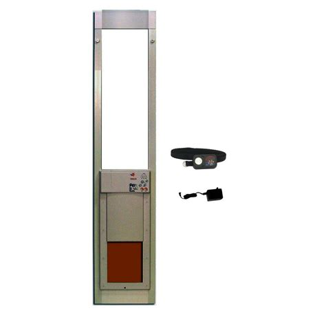 power pet      electronic patio pet door